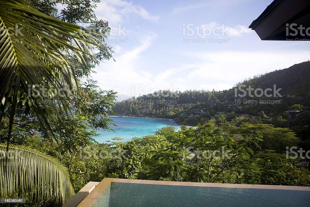Tourist resort royalty-free stock photo