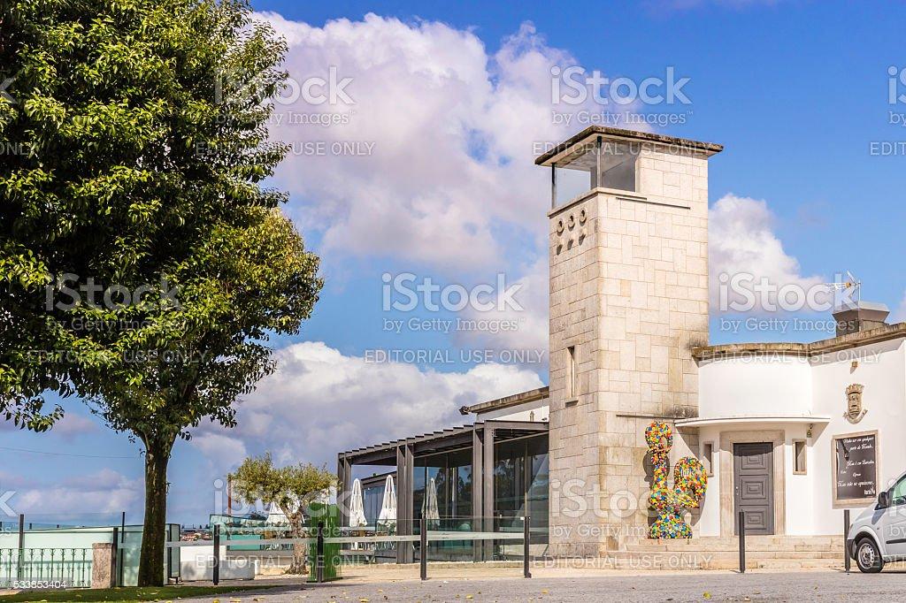 Tourist Restaurant in Barcelos, Portugal stock photo