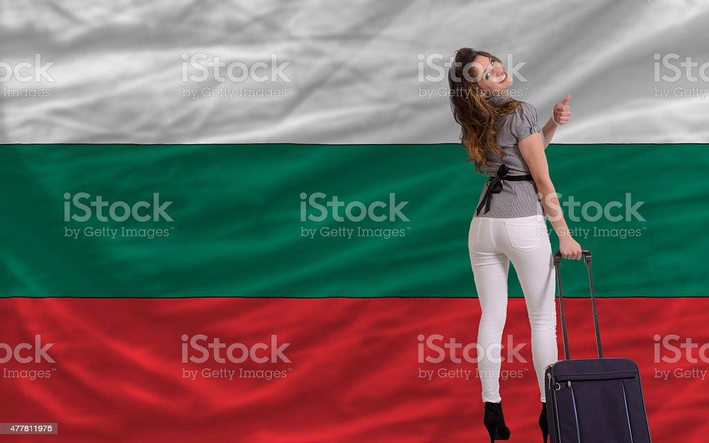 tourist travel to bulgaria stock photo