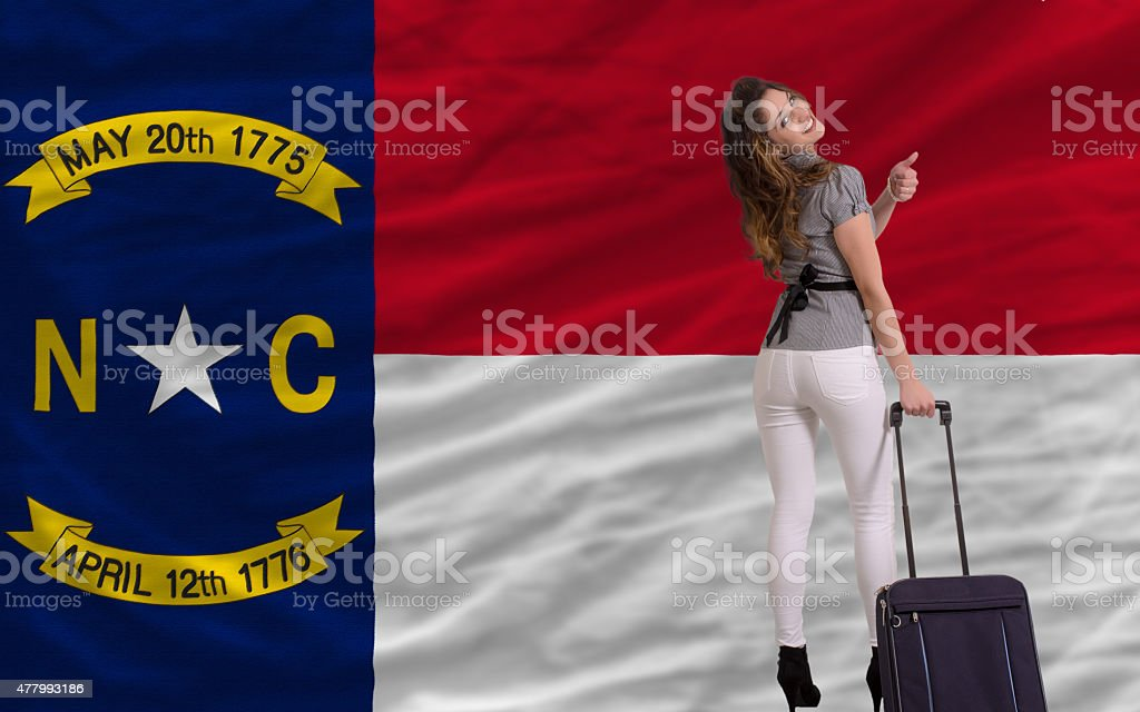 tourist travel to north carolina stock photo