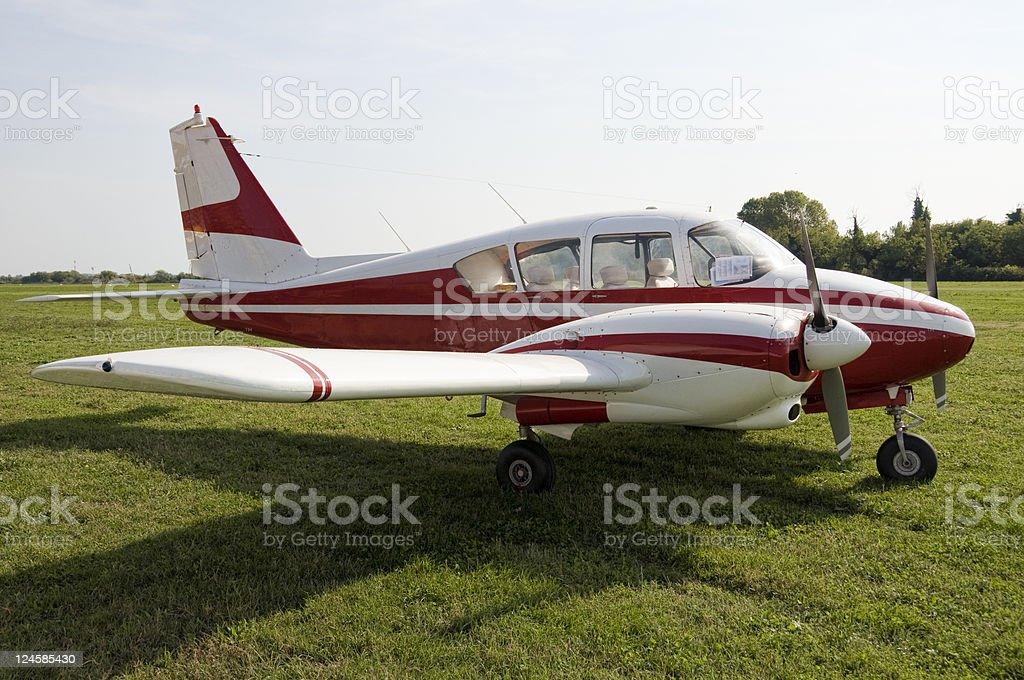 Touristic aviation stock photo