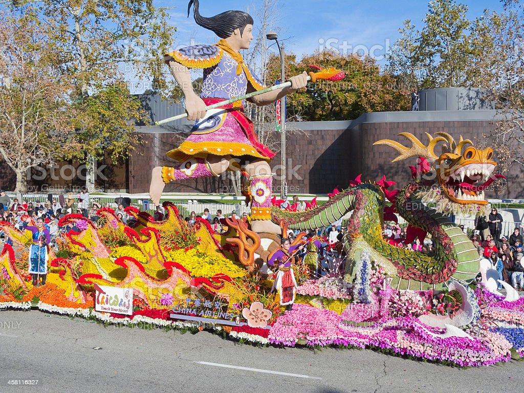 Tournament of Roses 2010 Parade stock photo