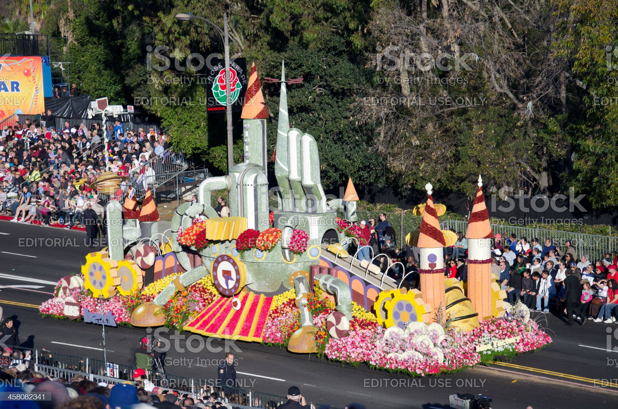 Tournament of Roses Parade 2012 royalty-free stock photo