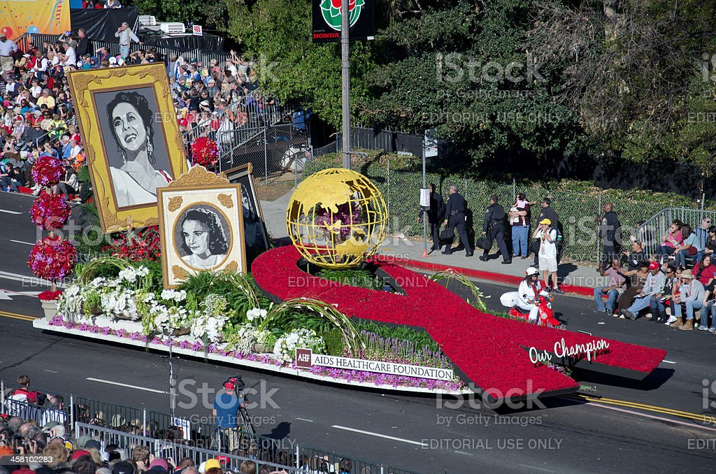 Tournament of Roses Parade 2012 stock photo