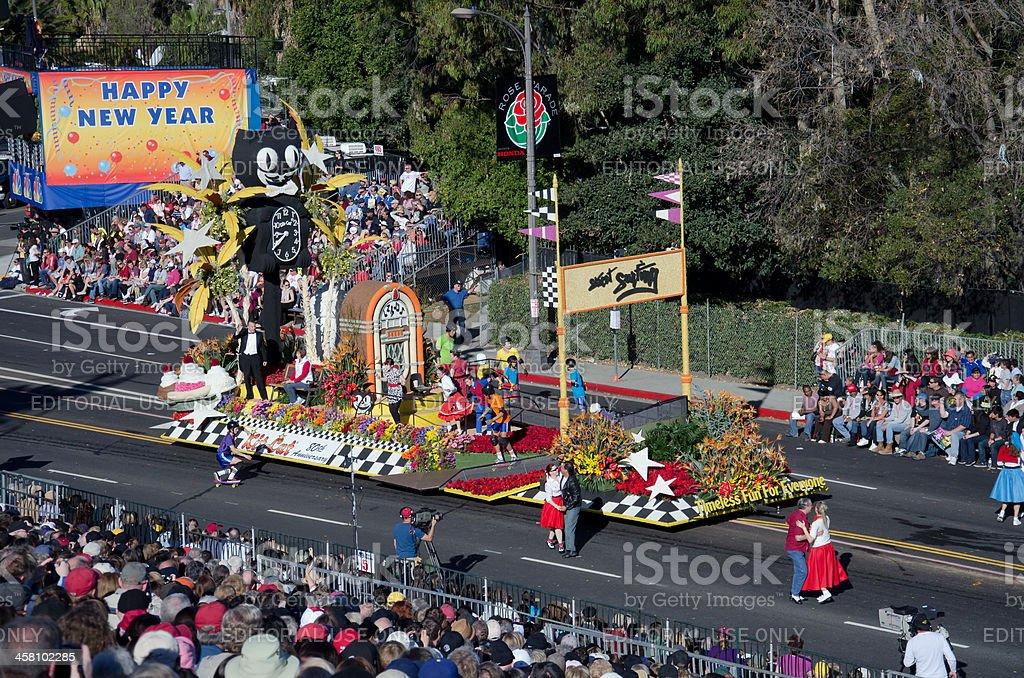 Tournament of Roses Parade 2012 stock photo