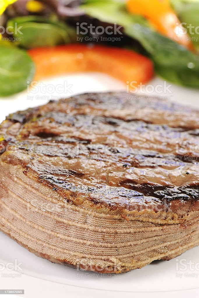 Tournedos steak royalty-free stock photo