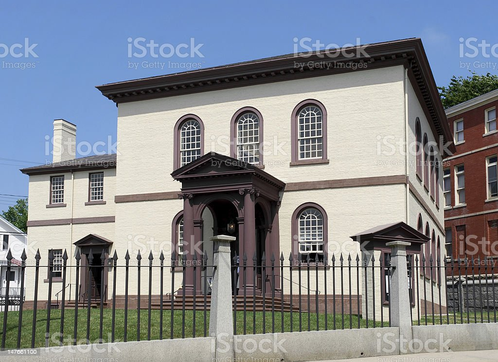 Touro Synagogue stock photo