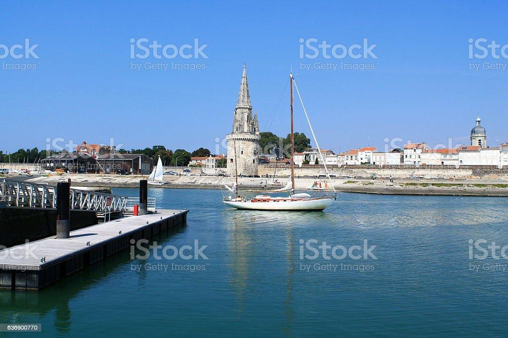 Tours médiévales de La Rochelle, France stock photo