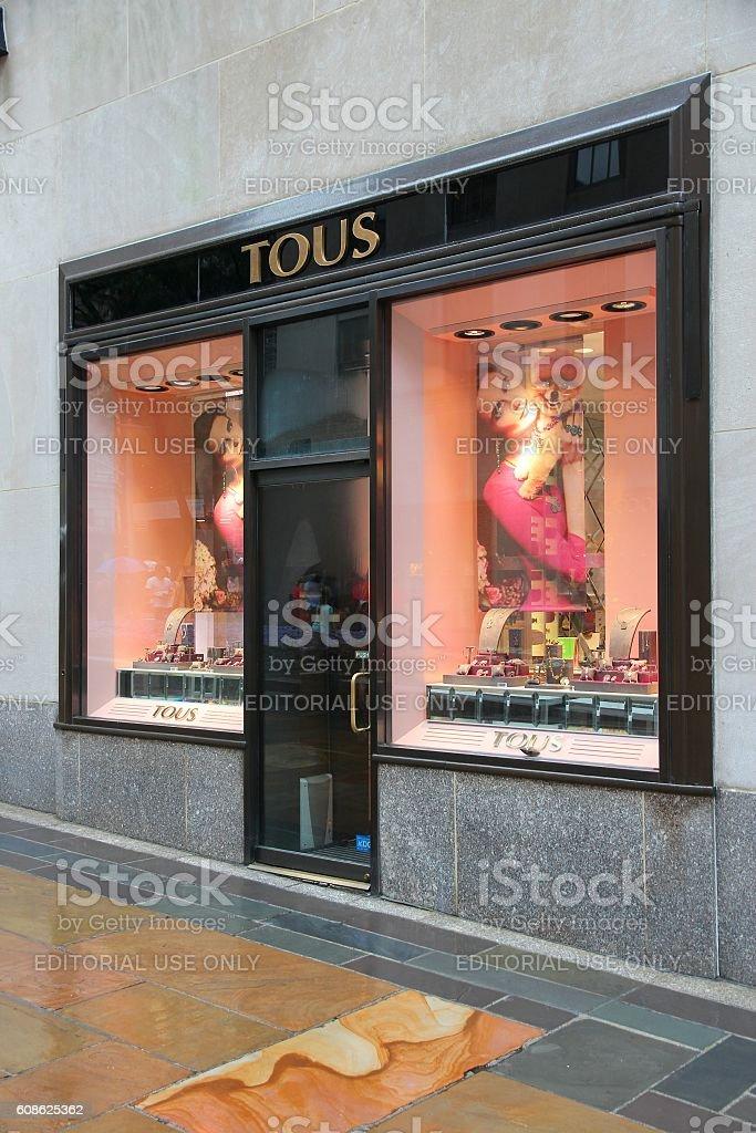 Tous jewelry store stock photo