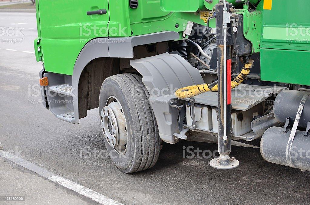 Tow car. stock photo