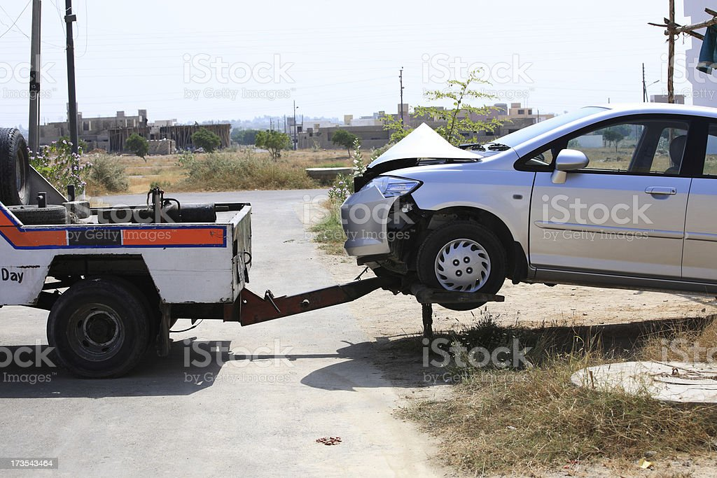Tow Service royalty-free stock photo