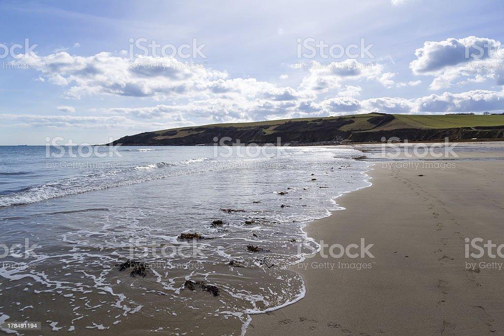 Towan plage Cornwall photo libre de droits