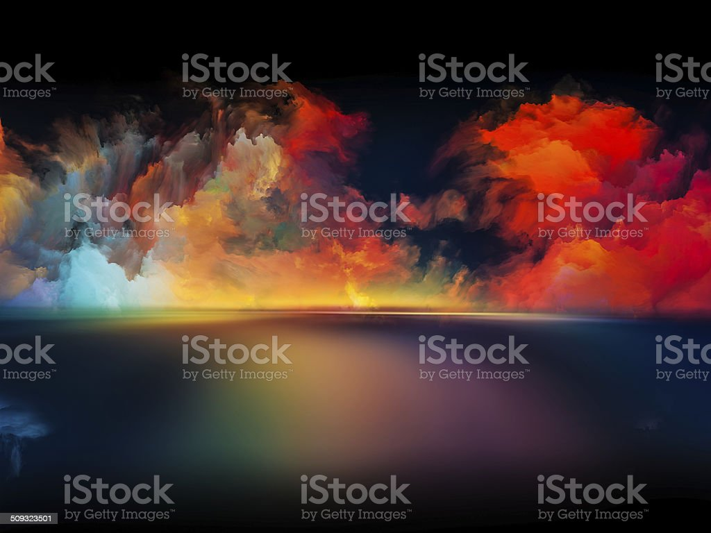 Toward Digital Colors stock photo