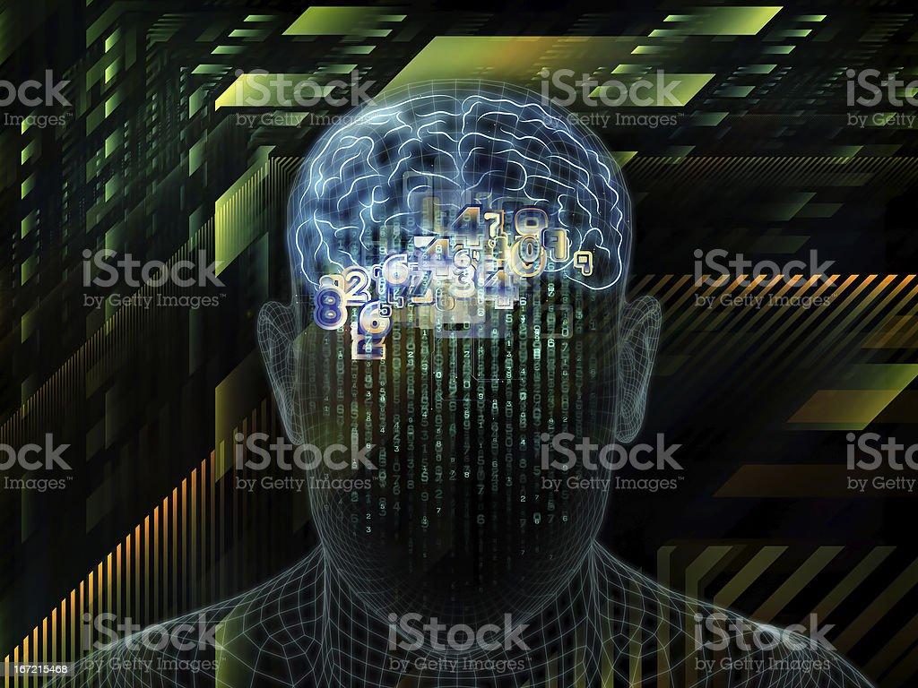 Toward Digital Consciousness royalty-free stock photo