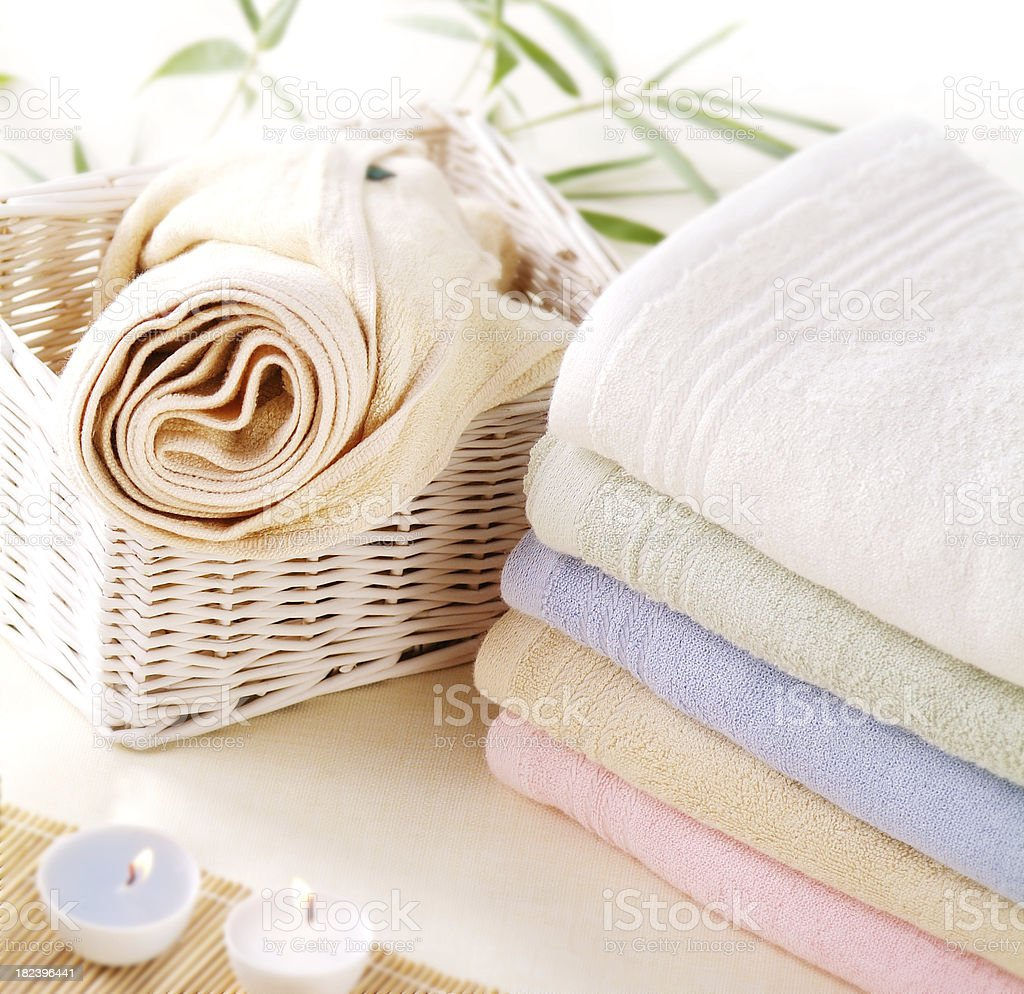 Towel Lifestyle royalty-free stock photo