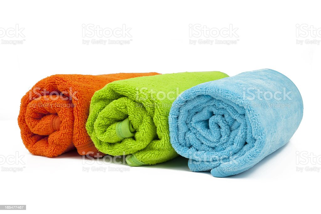 towel royalty-free stock photo