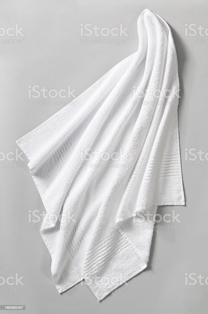 Towel stock photo