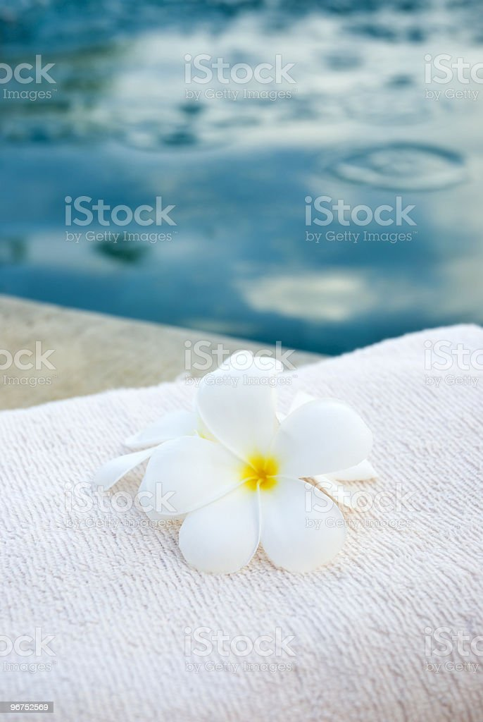 Towel ready for you royalty-free stock photo