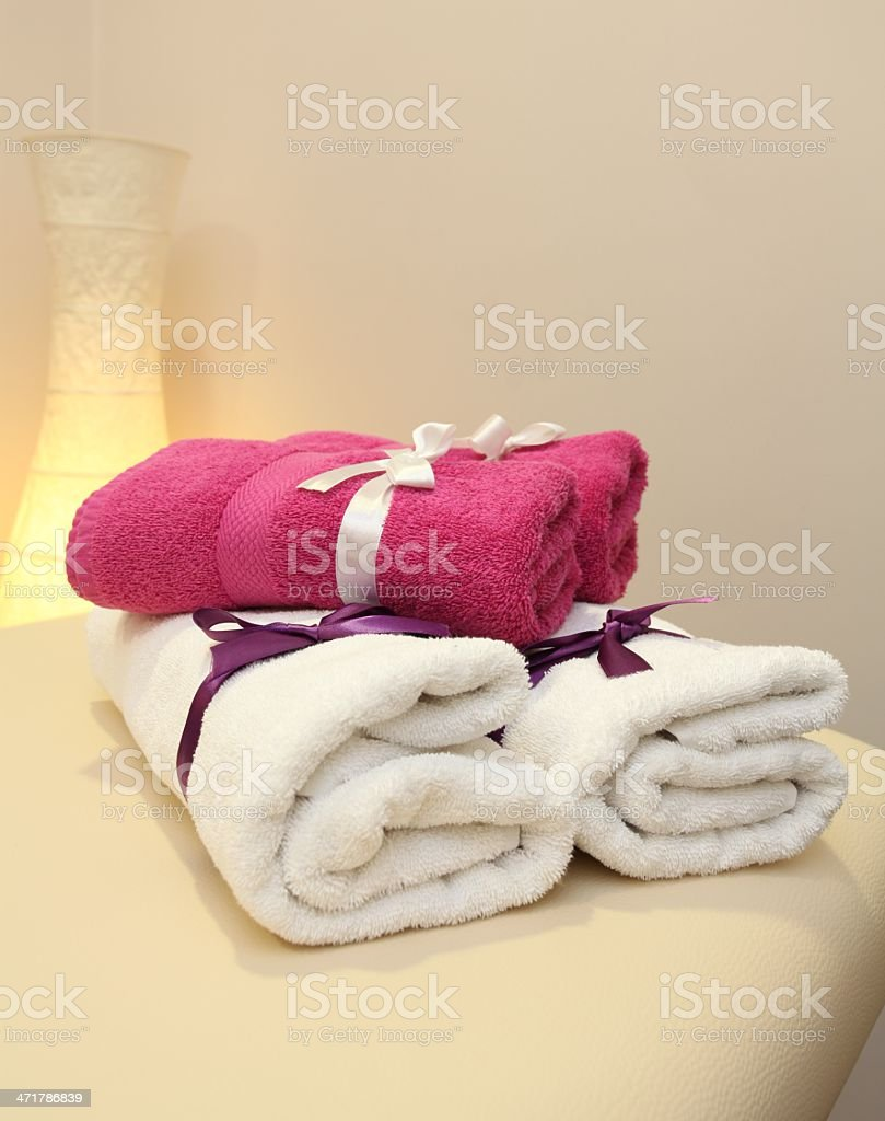 Towels royalty-free stock photo