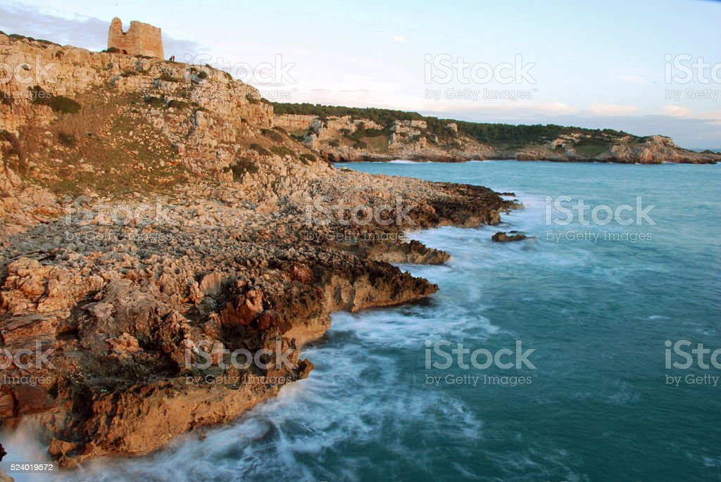 Tower above the Sea stock photo