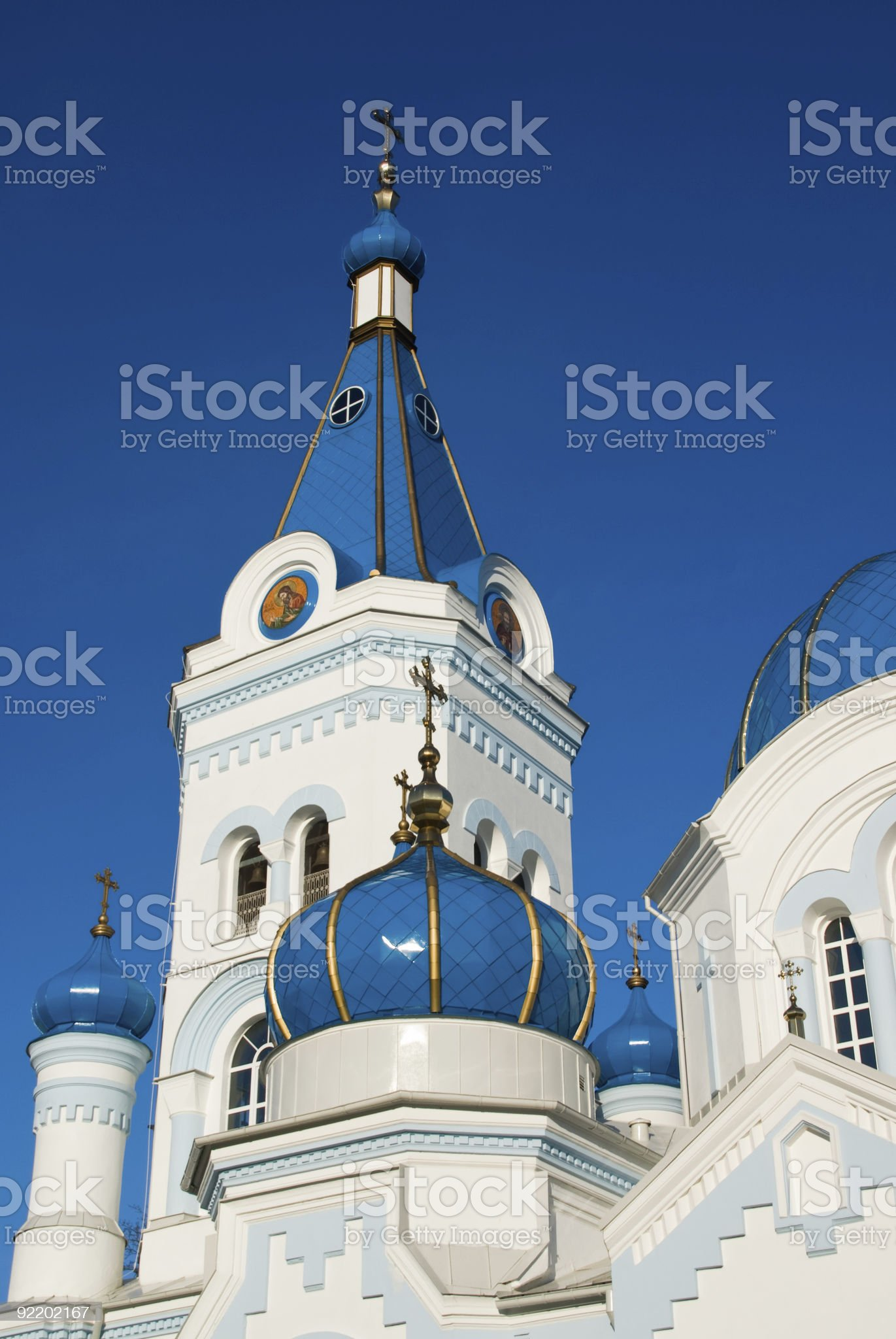 Tower and turrets royalty-free stock photo