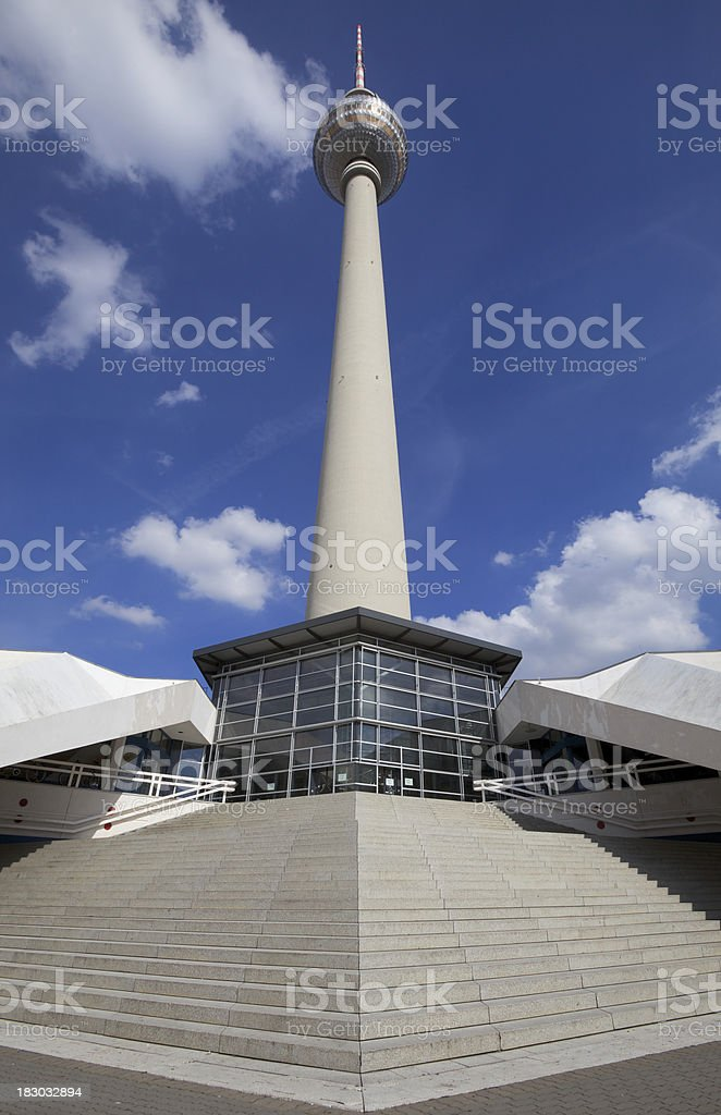 TV -Tower Berlin royalty-free stock photo