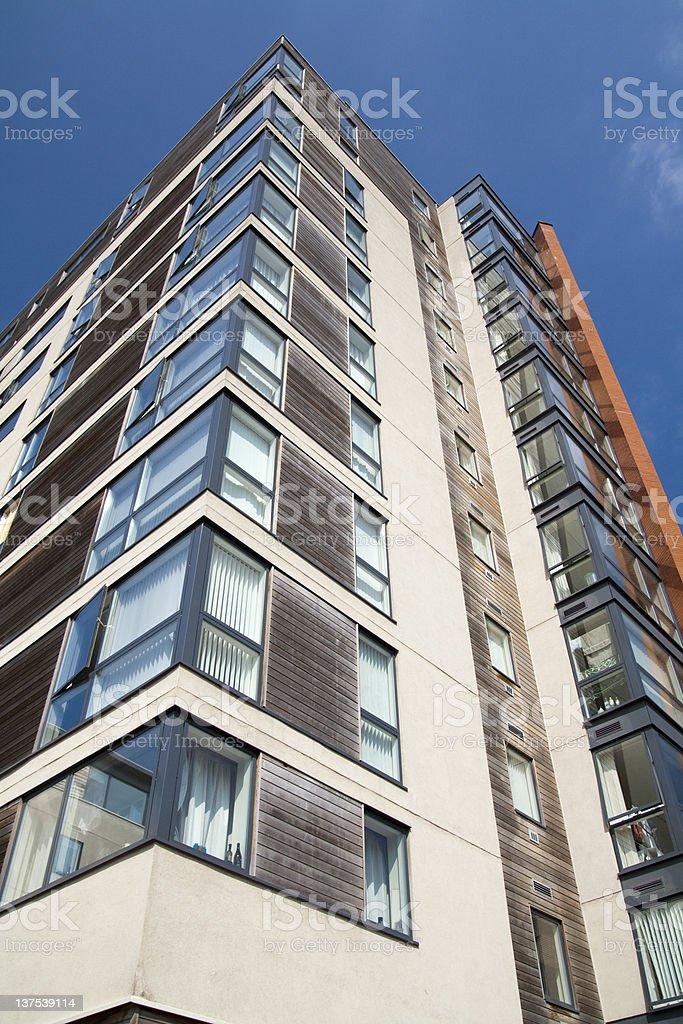Tower block stock photo