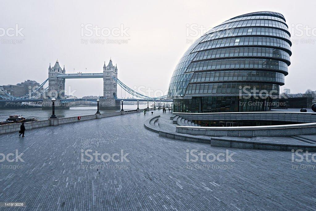 Tower Bridge und dem london city Hall. – Foto