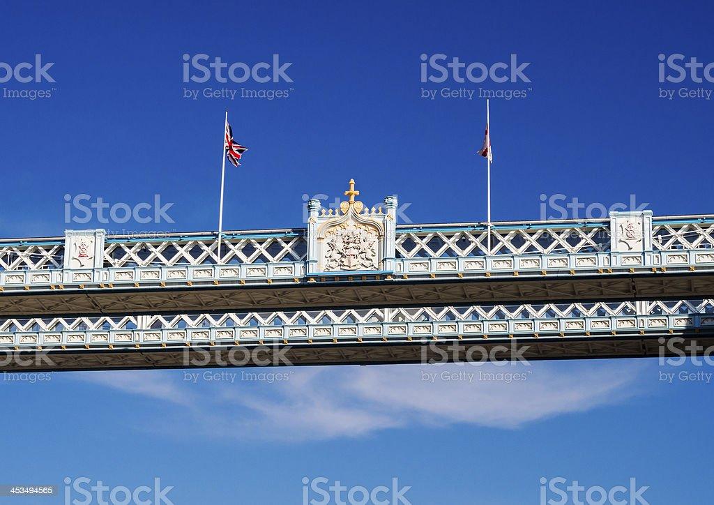 Tower Bridge Detail royalty-free stock photo