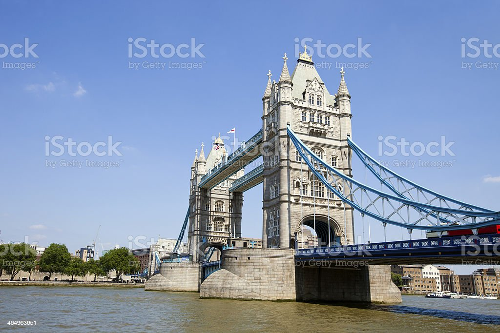 Tower Bridge in London royalty-free stock photo