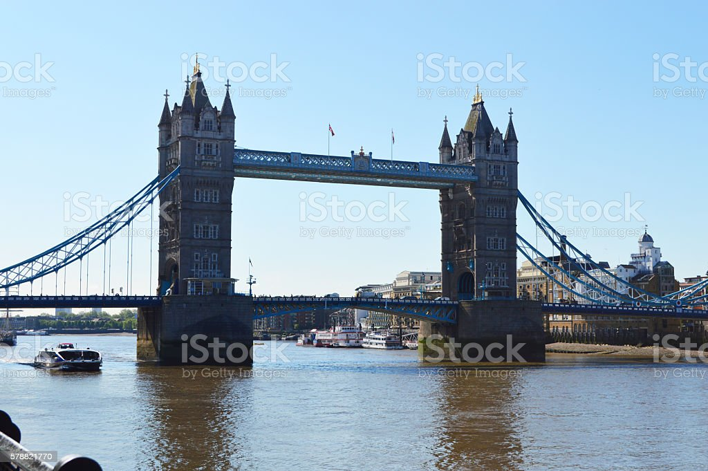 tower bridge en Londres foto de stock libre de derechos