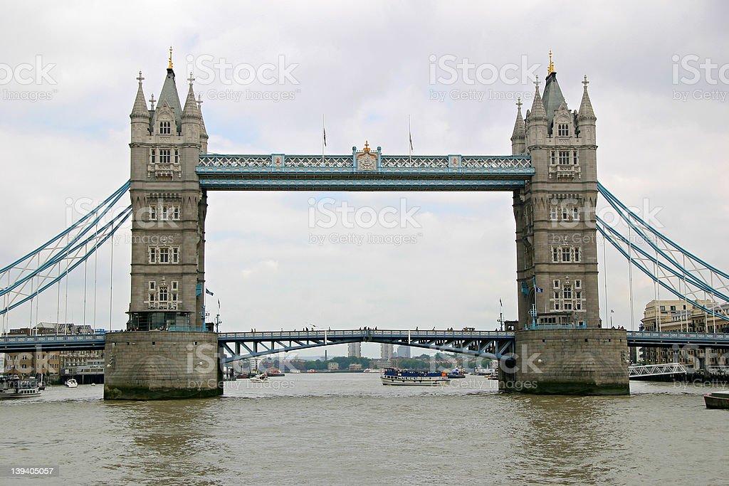Tower Bridge - London, England royalty-free stock photo