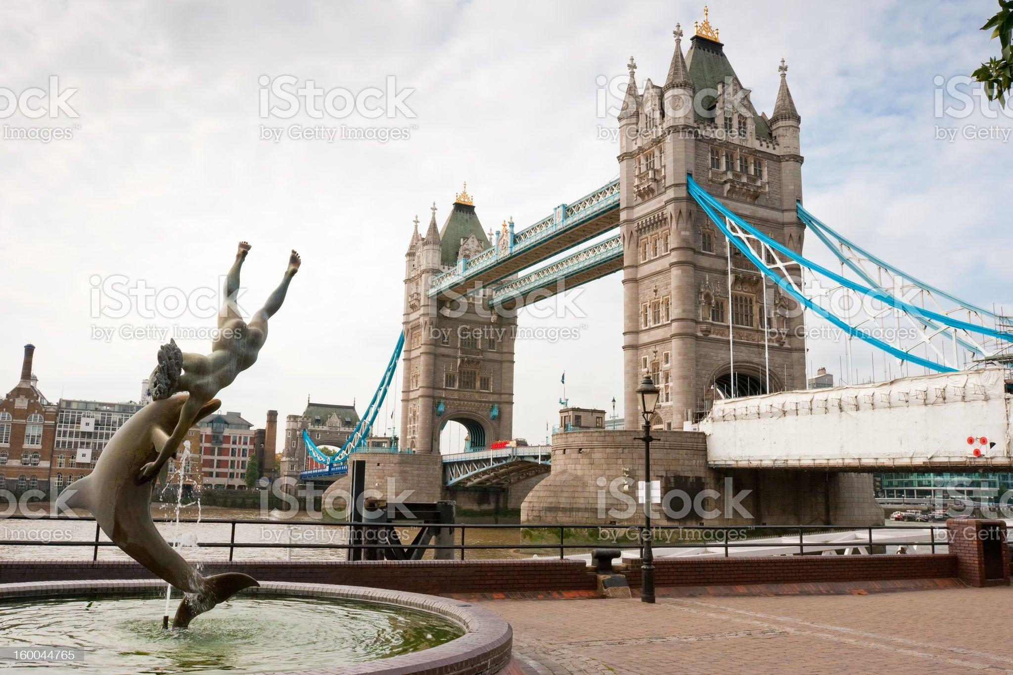 Tower Bridge. London, England royalty-free stock photo