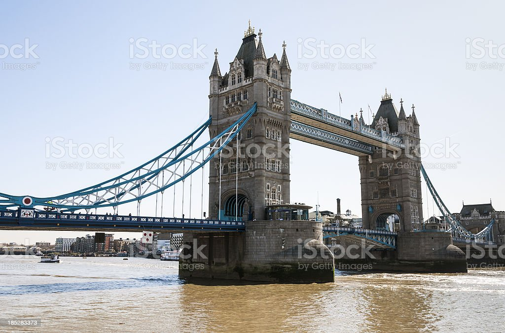Tower Bridge - London, England stock photo