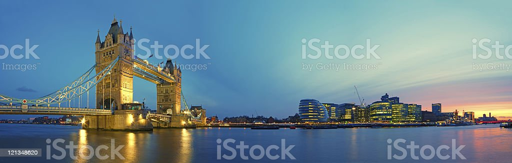 Tower Bridge, London. royalty-free stock photo