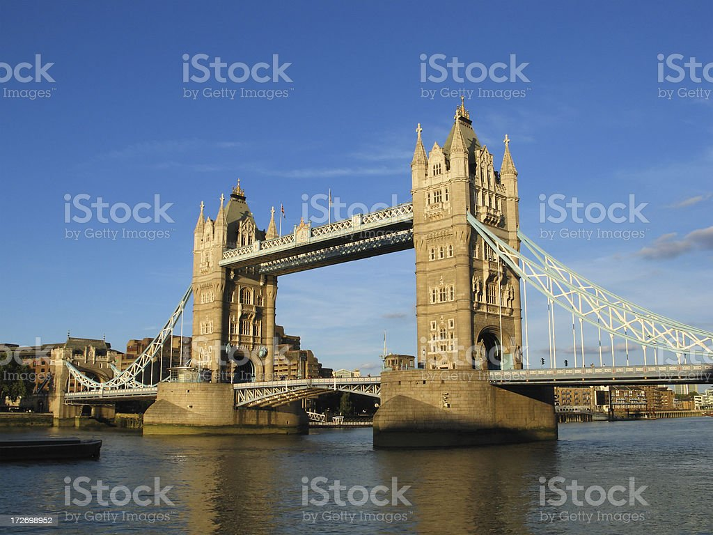 Tower Bridge London royalty-free stock photo