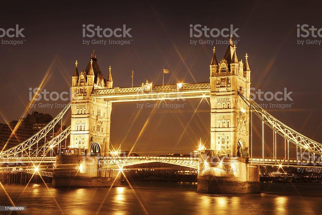 Tower Bridge London royalty-free stock photo