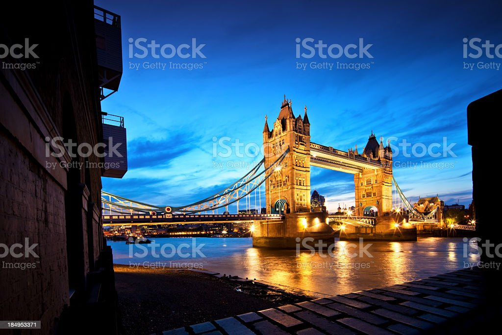 Tower Bridge London stock photo