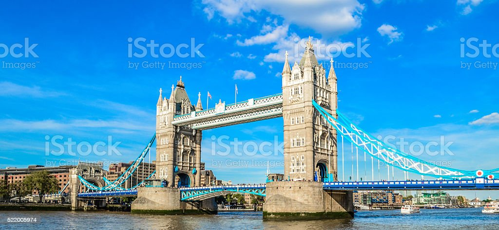 Tower Bridge, London stock photo