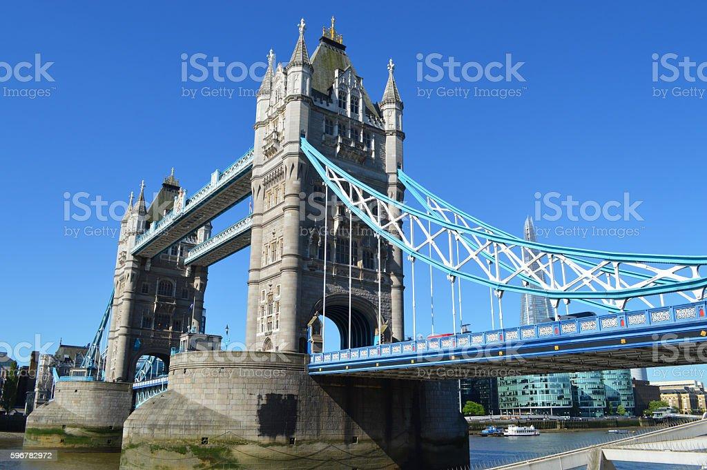 Puente de la Torre de Londres foto de stock libre de derechos