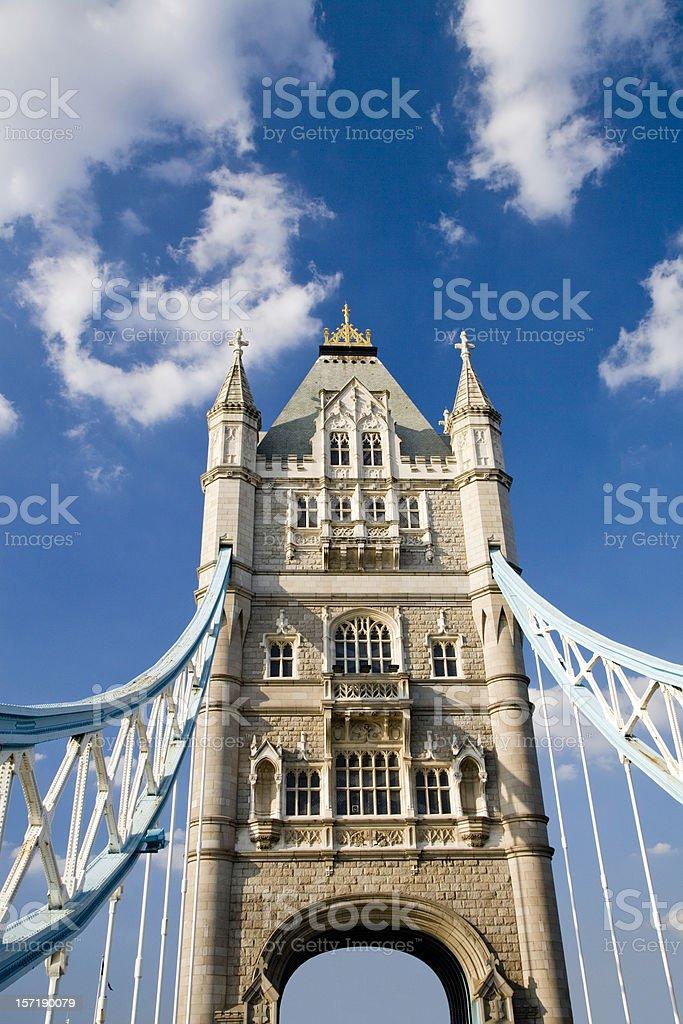 Tower Bridge London UK royalty-free stock photo