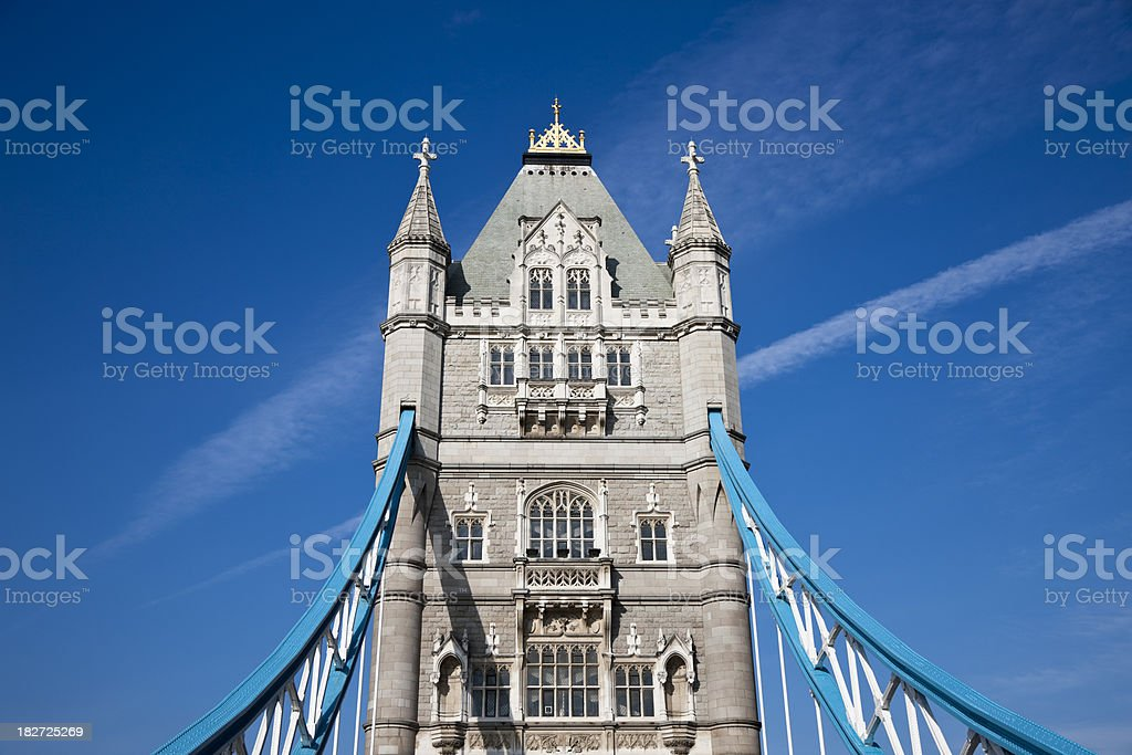 Tower Bridge, London, UK royalty-free stock photo