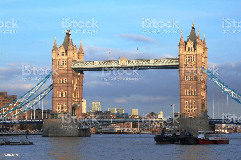 Tower Bridge - London - UK stock photo
