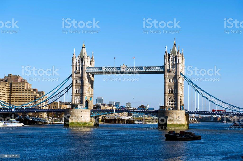 Tower Bridge, London, United Kingdom stock photo