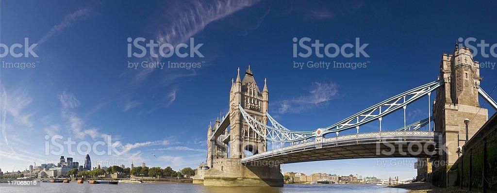 Tower bridge. stock photo