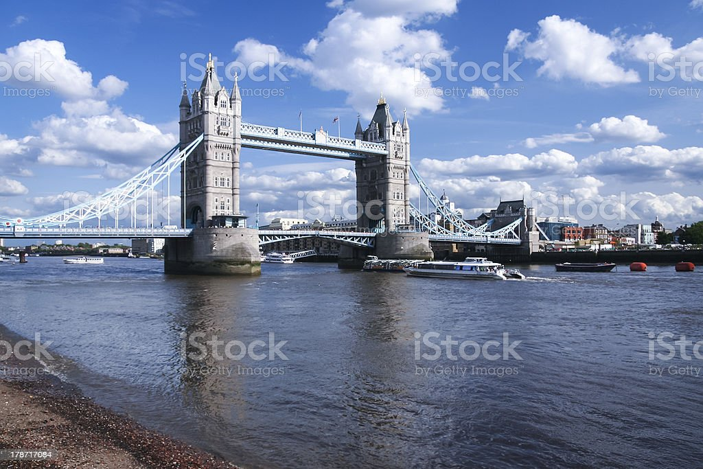 tower bridge river thames london england royalty-free stock photo