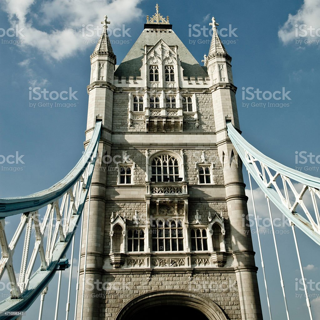 Tower Bridge - Squared London Series I royalty-free stock photo
