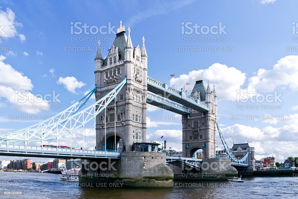 tower bridge thames river london uk royalty-free stock photo