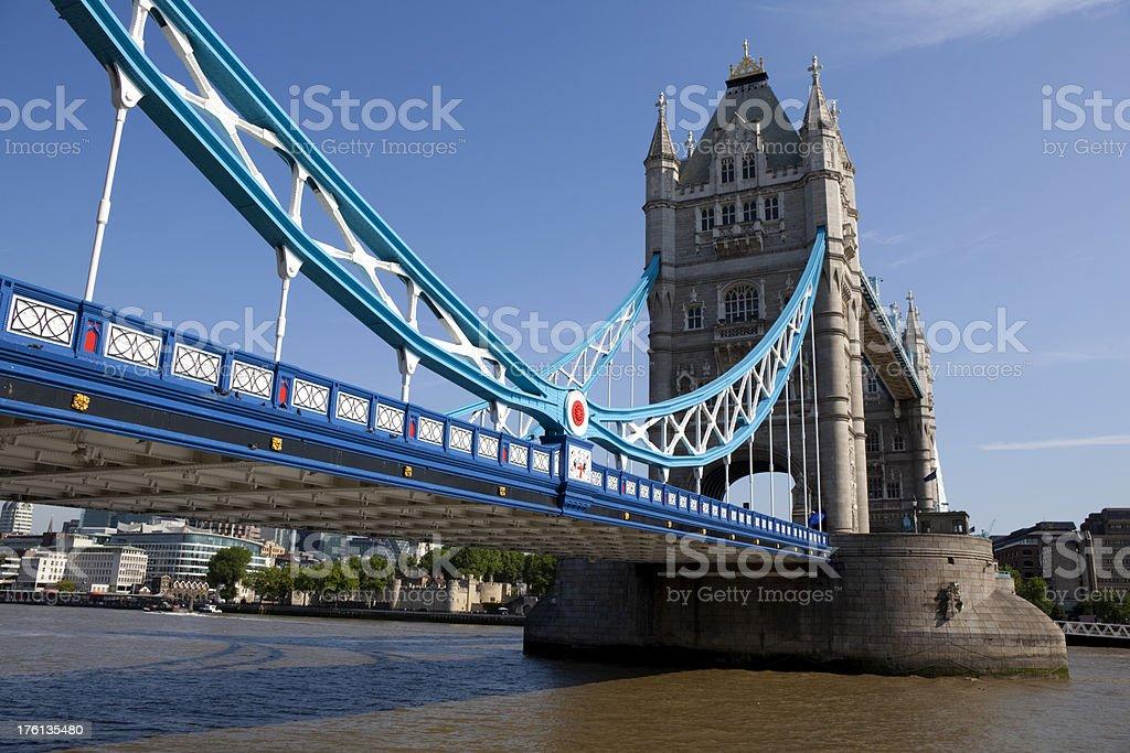 Tower Bridge & The Thames royalty-free stock photo