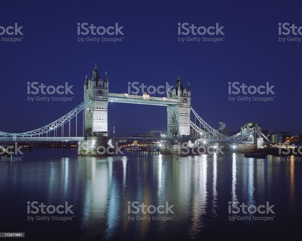 Tower Bridge XL royalty-free stock photo